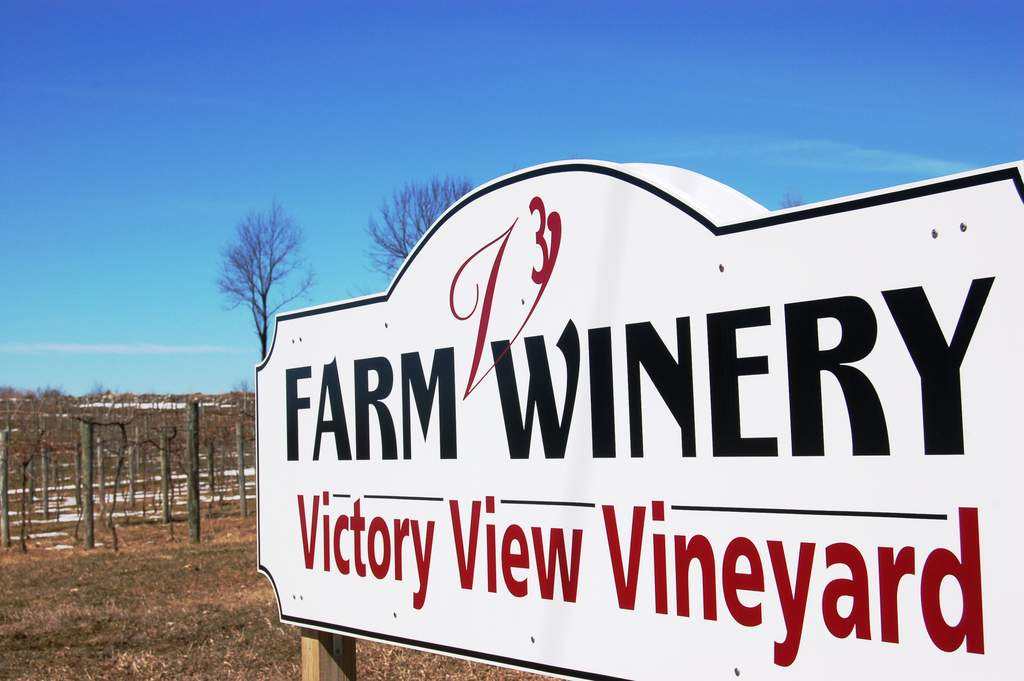 Victory View Vineyard a New York State farm winery