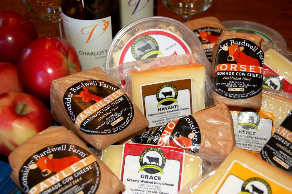 Victory View Vineyard offers local artisan cheeses