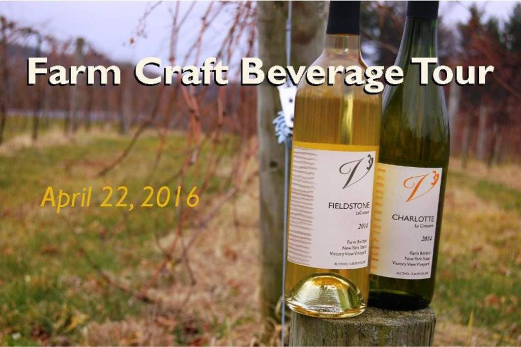 farm beverage tour @victoryviewvineyard