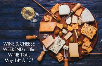 wine and cheese @Victory View Vineyard