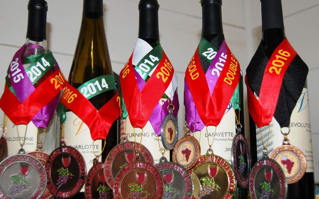 new medals for Victory View Vineyard
