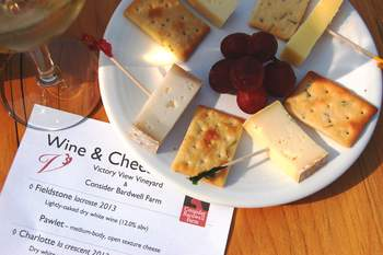 wine & cheese weekend on the wine trail