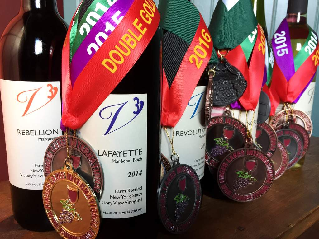 distinctive, award-winning wines on the Upper Hudson Wine Trail. Lafayette maréchal foch wins doubl