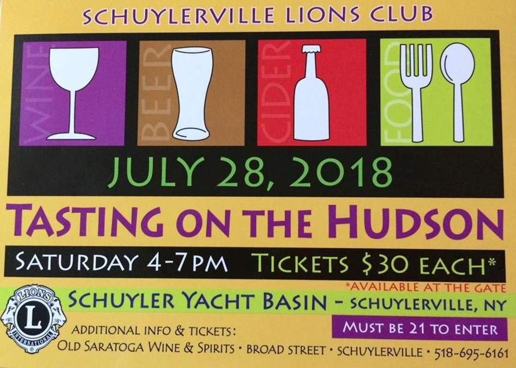 Victory View Vineyard at Schuyler Yacht Basin July 28th, 4 to 7:00 pm.
