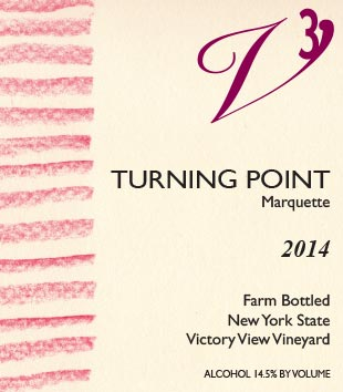 2014 Turning Point front label