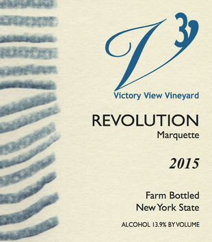 2015 Revolution front label