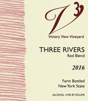 2016 Three Rivers front label