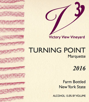 2016 Turning Point front label